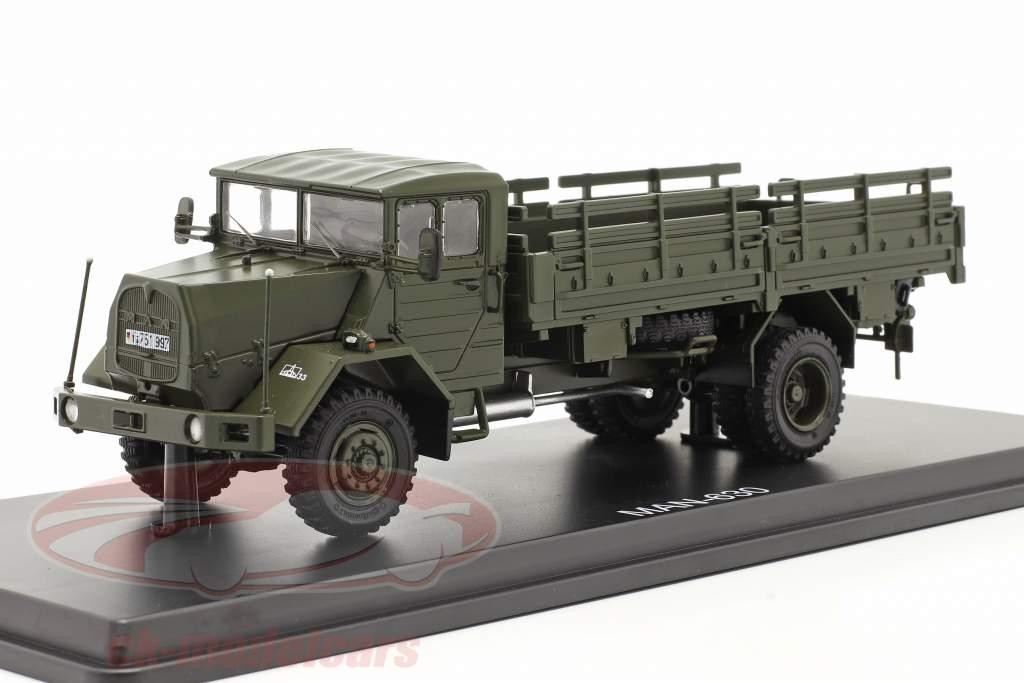 MAN 630 forças Armadas Veículo militar plataforma caminhão 1:43 Premium ClassiXXs