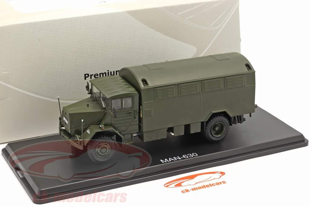 MAN 630 krijgsmacht Militair voertuig Bakwagen 1:43 Premie ClassiXXs