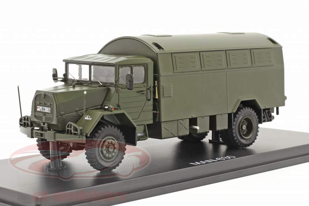 MAN 630 Bundeswehr Militärfahrzeug Koffer-LKW 1:43 Premium ClassiXXs