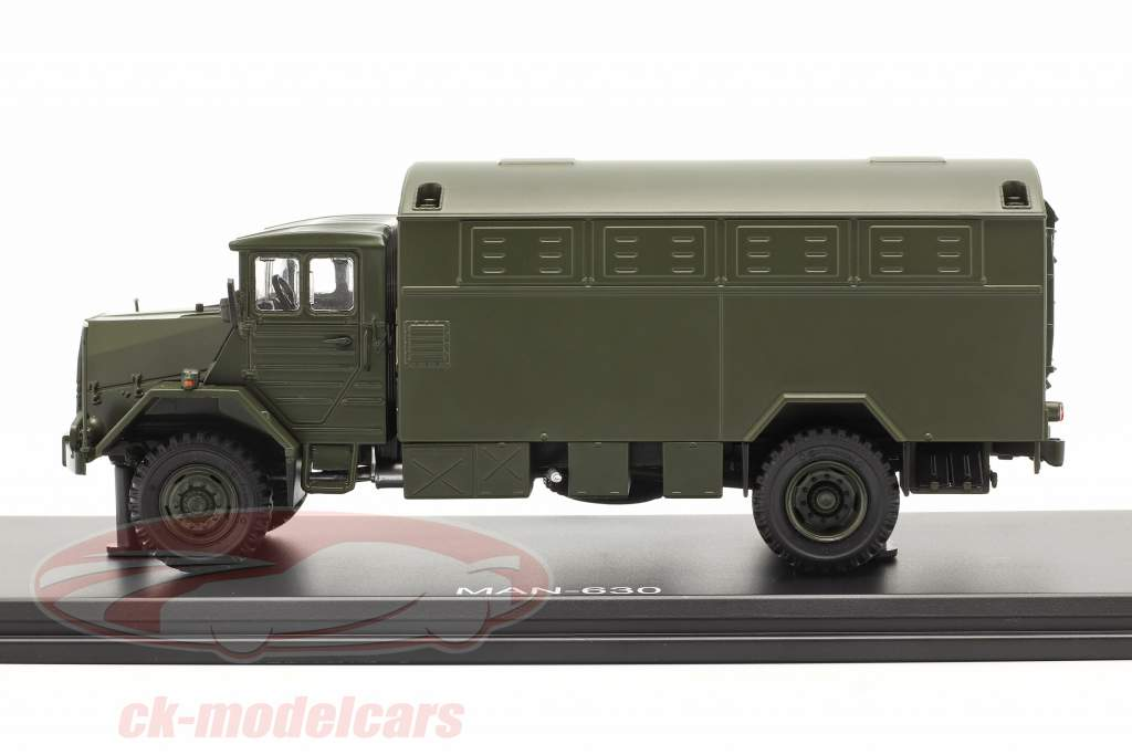 MAN 630 armed forces Military vehicle Box truck 1:43 Premium ClassiXXs