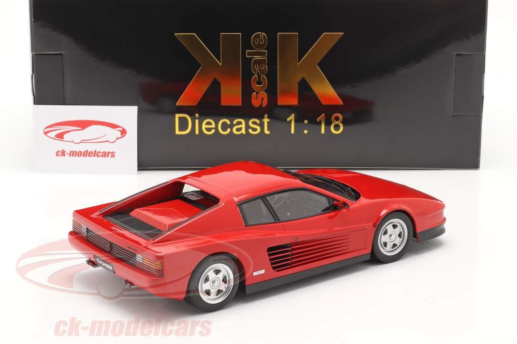 Ferrari Testarossa Baujahr 1986 rot 1:18 KK-Scale