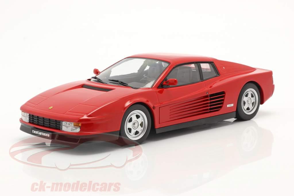 Ferrari Testarossa year 1986 red 1:18 KK-Scale