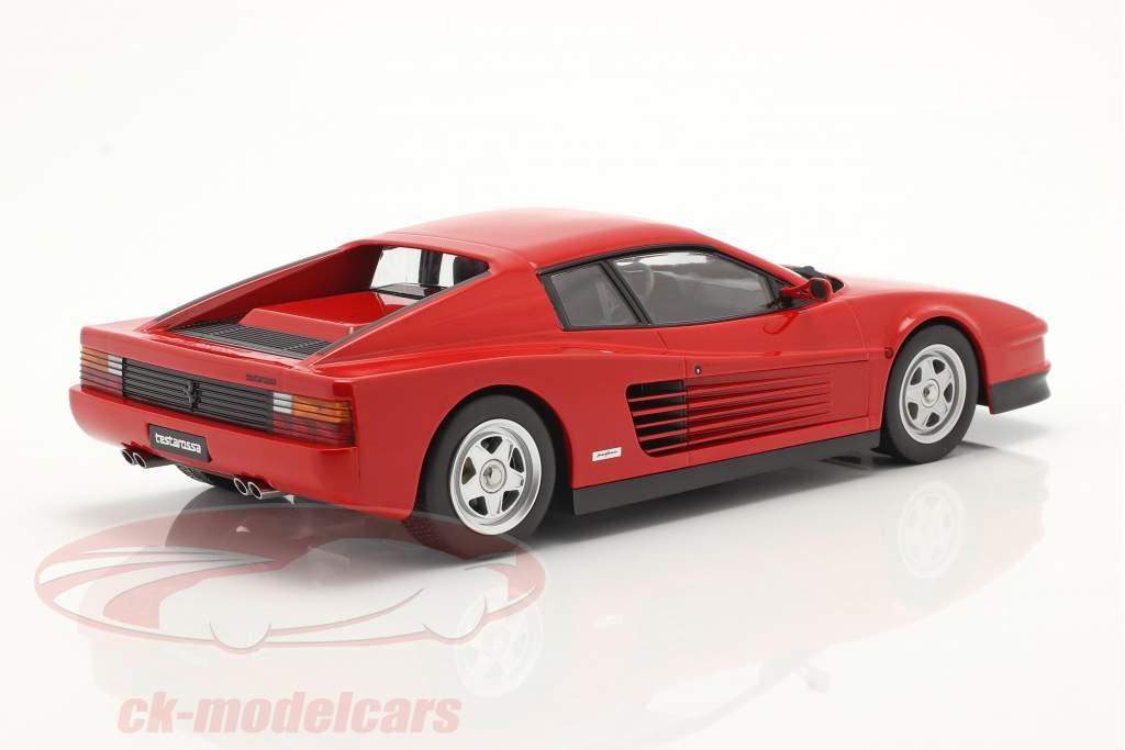 Ferrari Testarossa Année de construction 1986 rouge 1:18 KK-Scale