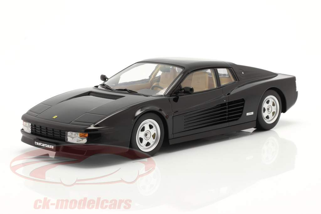 Ferrari Testarossa Construction year 1986 black 1:18 KK-Scale