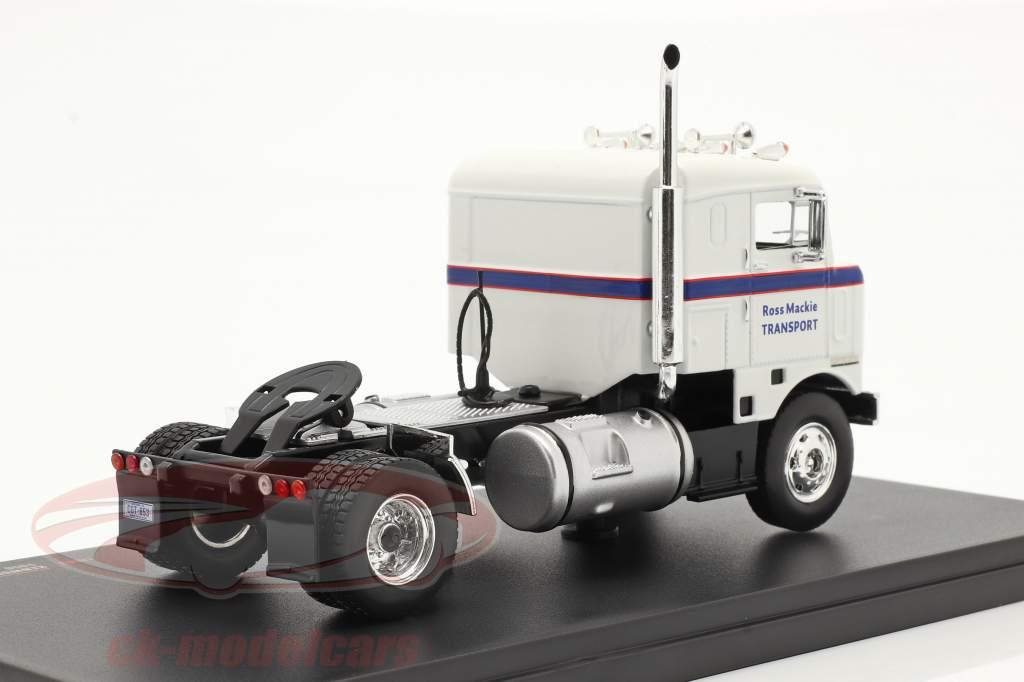 Kenworth Bullnose Camion Anno di costruzione 1950 bianca / blu 1:43 Ixo