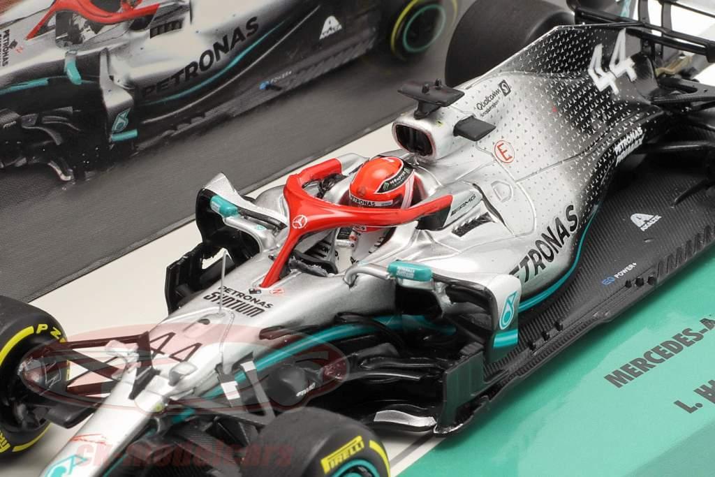 L. Hamilton Mercedes-AMG F1 W10 #44 Monaco GP F1 Verdensmester 2019 1:43 Minichamps