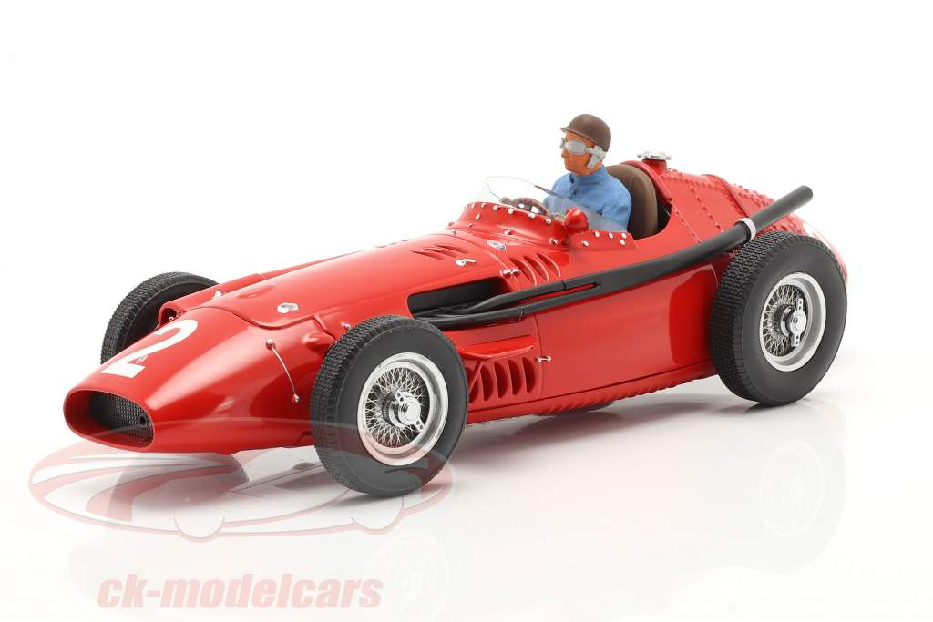 Set: Maserati 250F #2 francês GP Campeão mundial F1 1957 Com Figura do motorista 1:18 CMR