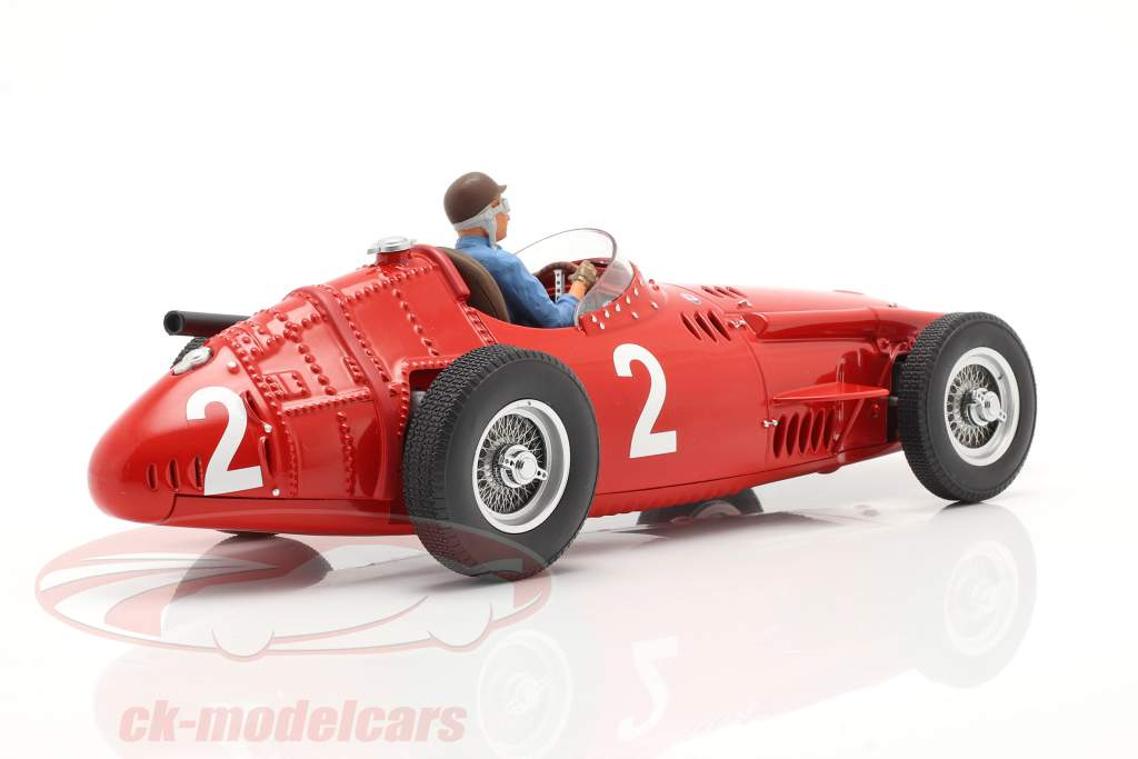 Set: Maserati 250F #2 French GP World Champion F1 1957 with driver figure 1:18 CMR