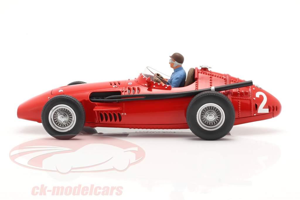 Set: Maserati 250F #2 francese GP Campione del mondo F1 1957 Con Figura del conducente 1:18 CMR