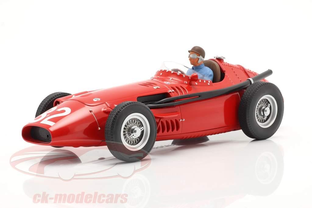 Set: Maserati 250F #32 Monaco GP Wereldkampioen F1 1957 Met Driver figuur 1:18 CMR