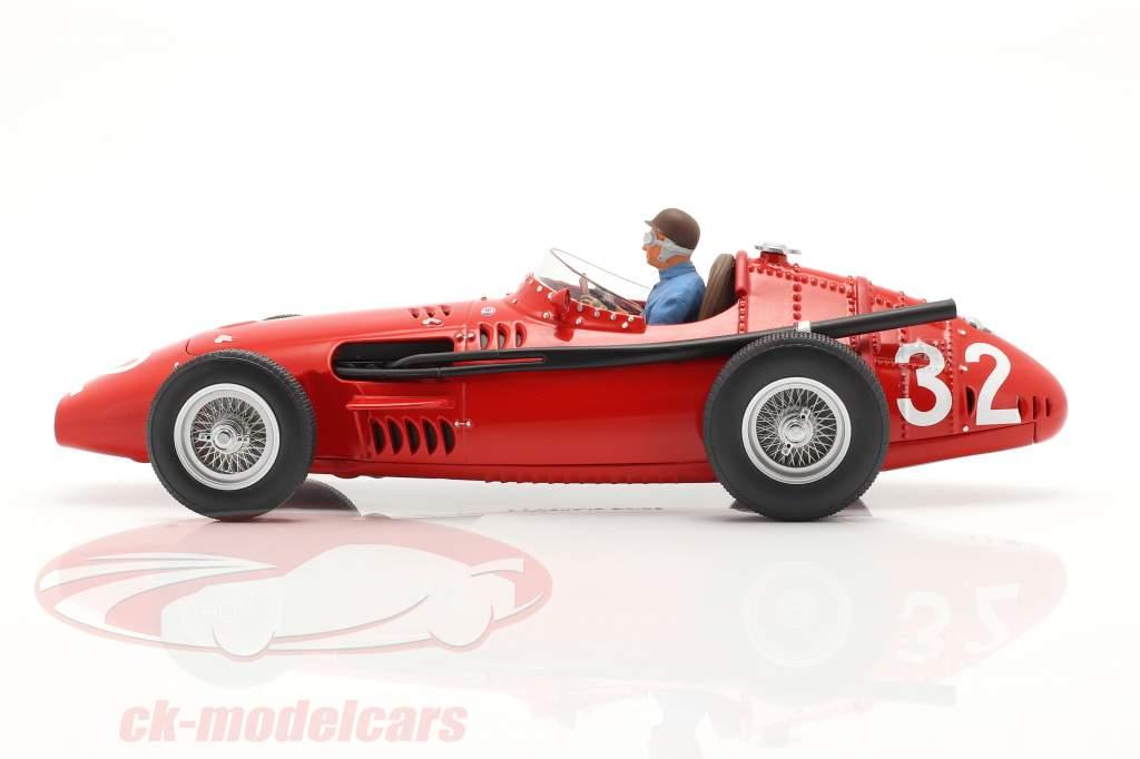 Set: Maserati 250F #32 Monaco GP Campione del mondo F1 1957 Con Figura del conducente 1:18 CMR