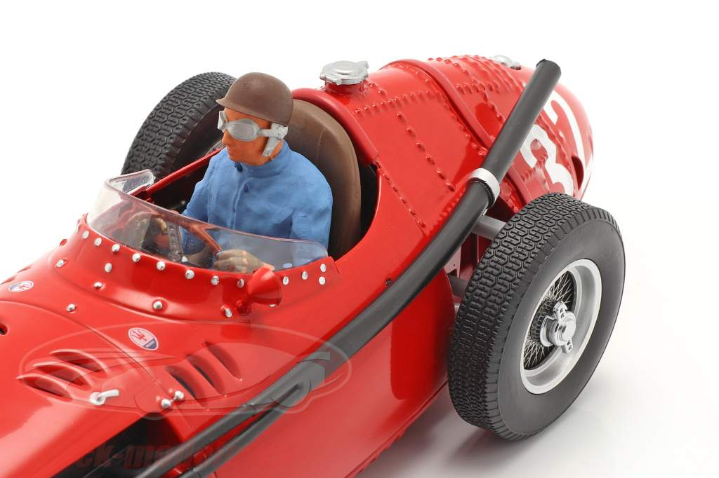 Set: Maserati 250F #32 Monaco GP Campeón mundial F1 1957 Con Figura del conductor 1:18 CMR