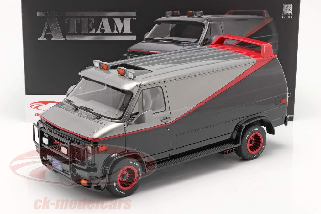 B.A.'s GMC Vandura Baujahr 1983 TV-Serie Das A-Team (1983-87) 1:12 Greenlight