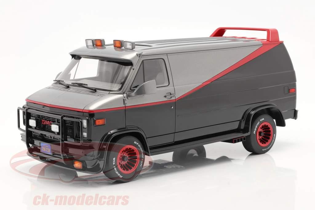 B.A.'s GMC Vandura Anno di costruzione 1983 serie TV Il A-Team (1983-87) 1:12 Greenlight