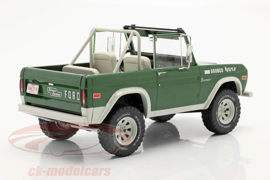 Ford Bronco Buster 1970 Film Smokey and the Bandit (1977) groen 1:18 Greenlight