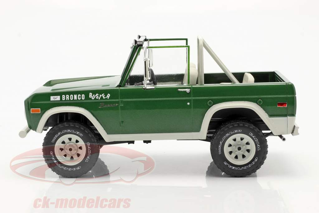 Ford Bronco Buster 1970 Filme Smokey and the Bandit (1977) verde 1:18 Greenlight