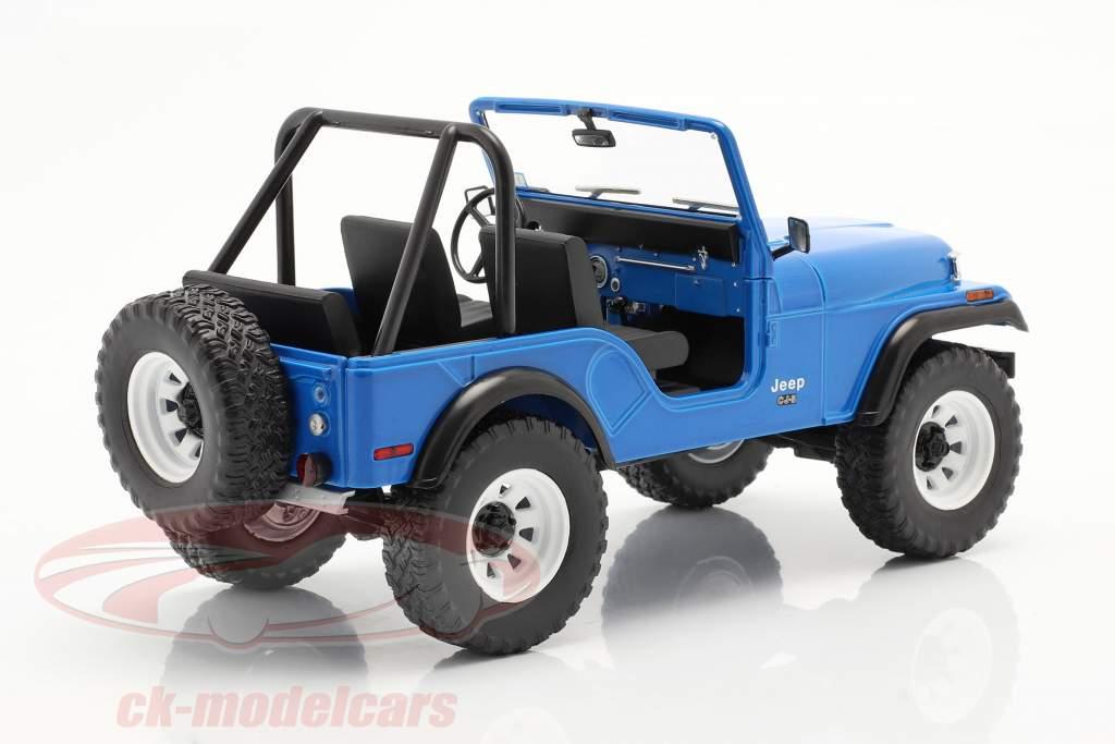 Jeep CJ-5 1972 TV series Mork & Mindy (1978-82) blue 1:18 Greenlight