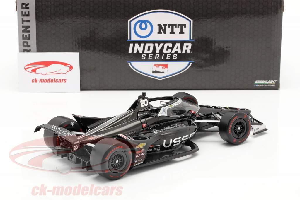 Ed Carpenter Chevrolet #20 IndyCar Series 2020 Ed Carpenter Racing 1:18 Greenlight