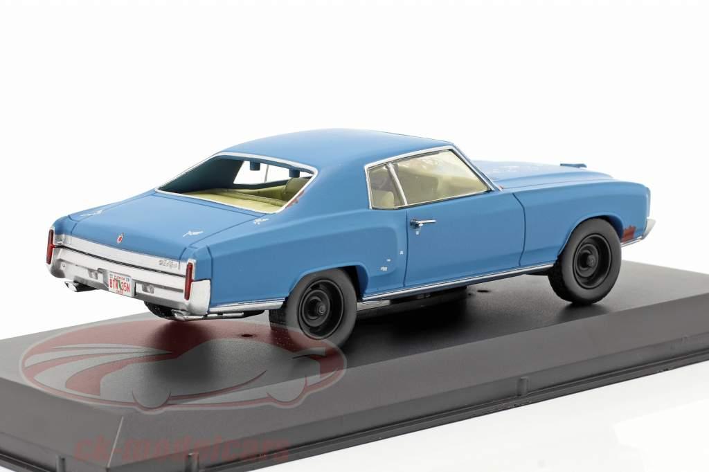 Chevrolet Monte Carlo 1972 Filme Ace Ventura (1994) azul 1:43 Greenlight