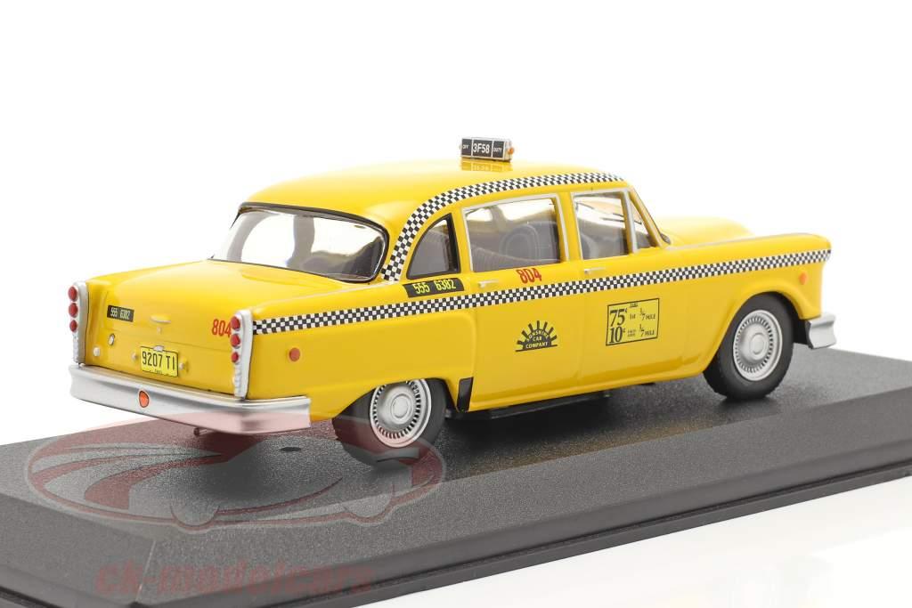 Checker Taxi Cab 1974 TV serier Taxi (1978-83) gul 1:43 Greenlight