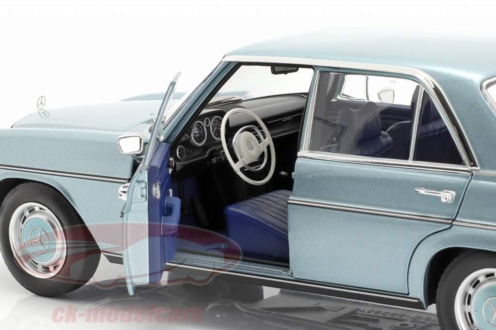 Mercedes-Benz 200 (W114/115) year 1968-73 gray-blue metallic 1:18 Norev