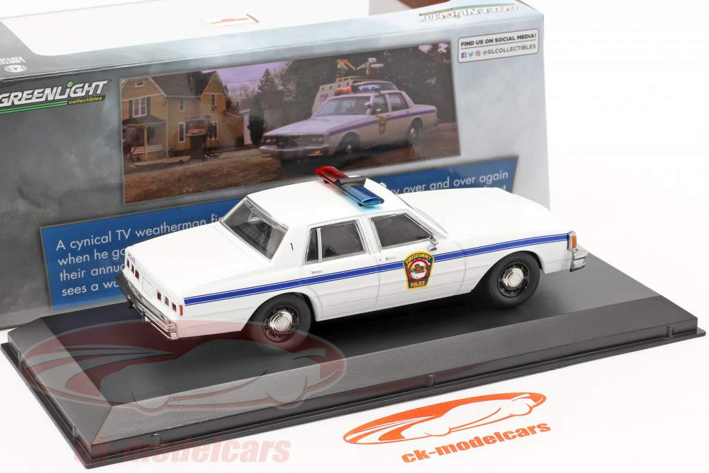 Chevrolet Caprice Police Car 1980 Film Groundhog Day (1993) 1:43 Greenlight