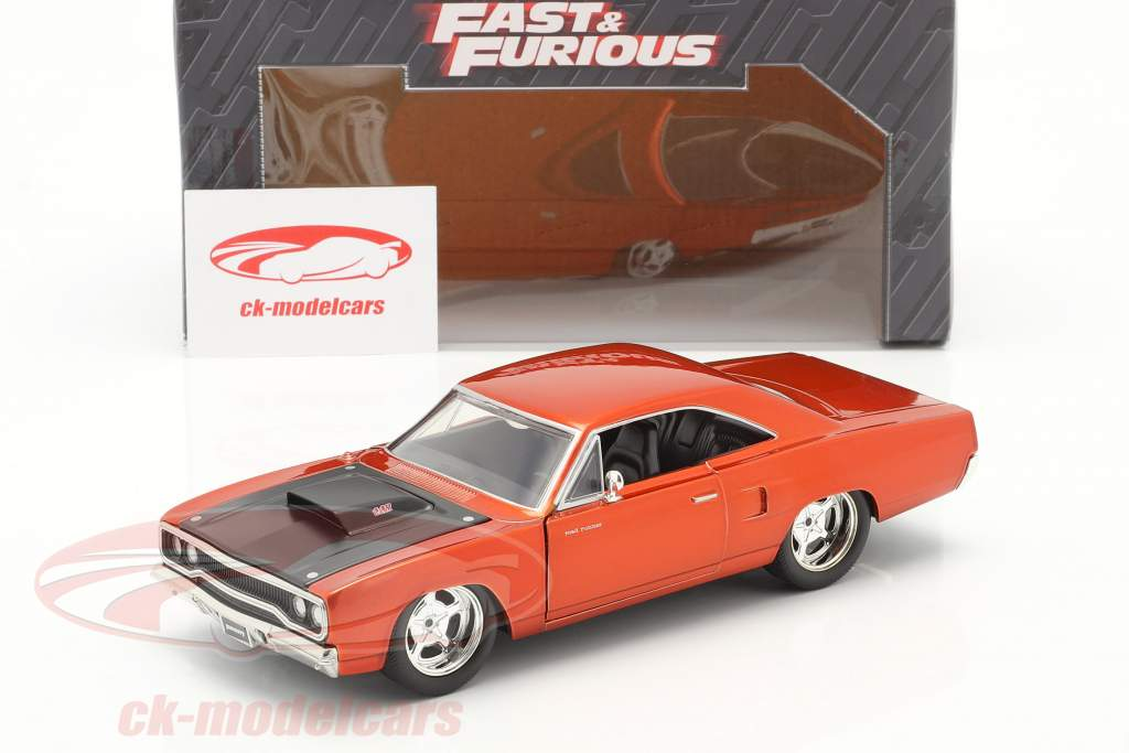 Plymouth Road Runner out the Movie Fast and Furious 7 2015 1:24 Jada Toys