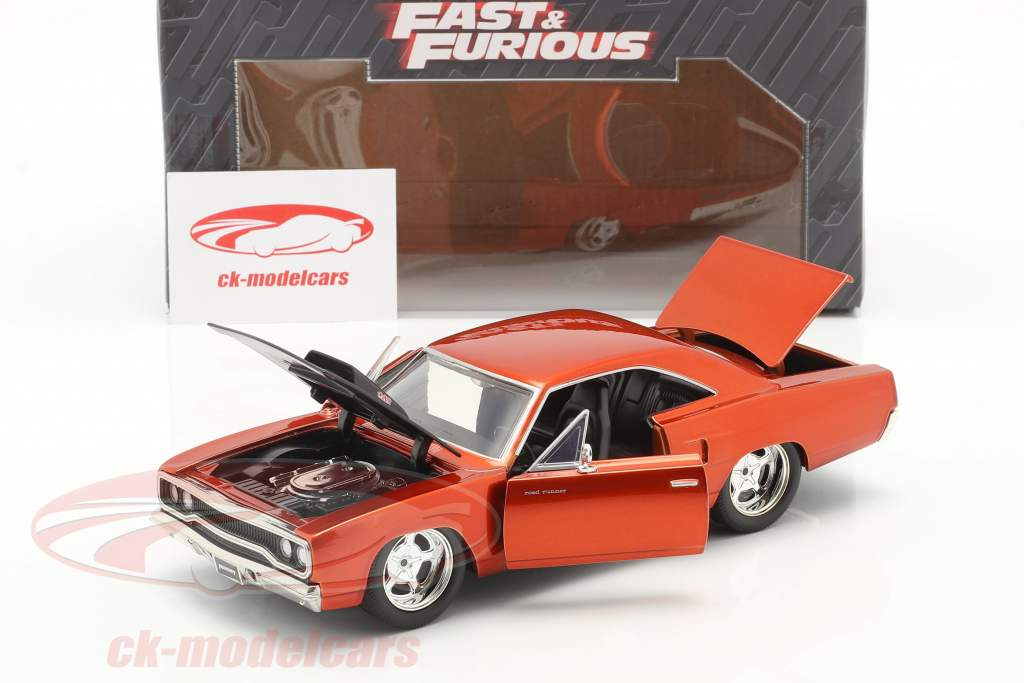 Plymouth Road Runner aus dem Film Fast and Furious 7 2015 1:24 Jada Toys