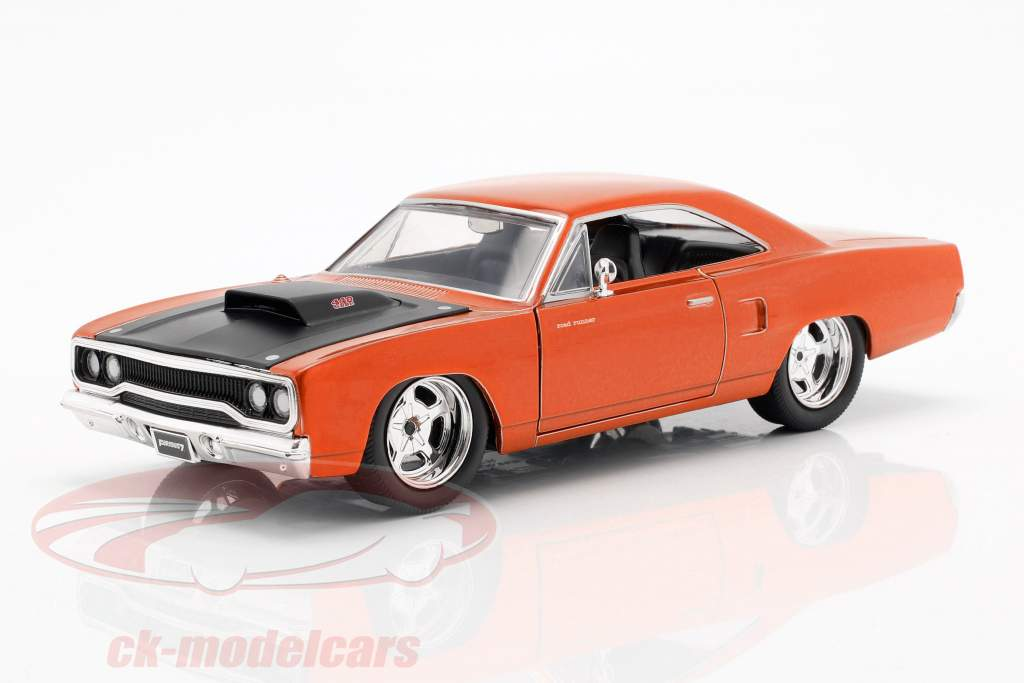 Plymouth Road Runner fra den Film Fast and Furious 7 2015 1:24 Jada Toys