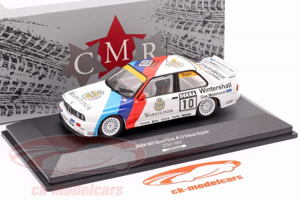 BMW M3 (E30) #10 DTM 1992 Steve Soper 1:43 CMR