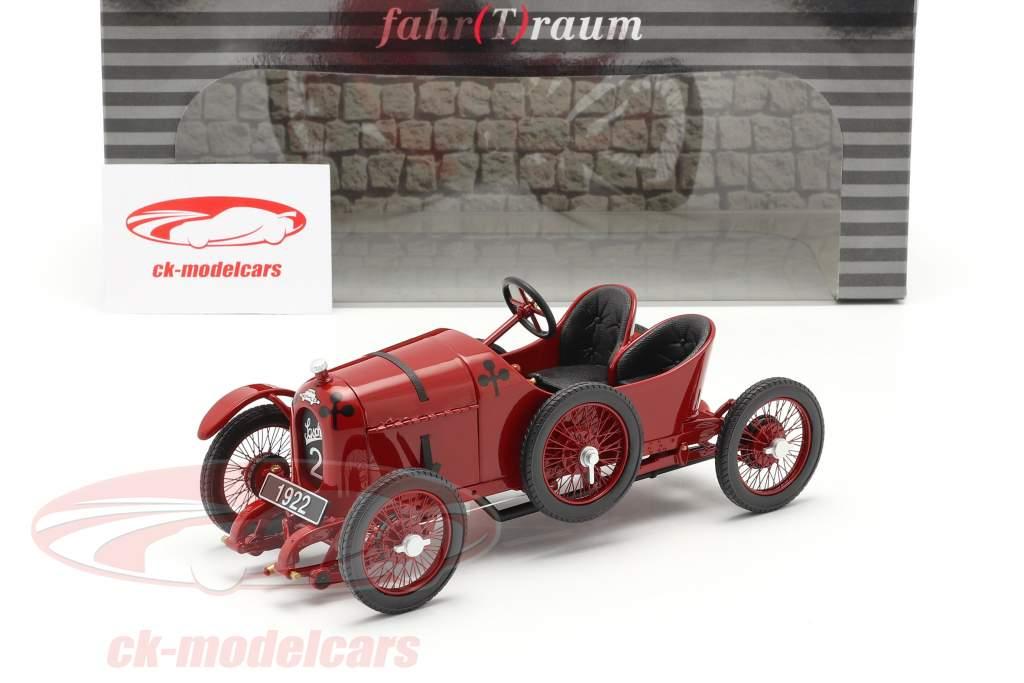 Austro Daimler Sascha ADS-R #2 Bouwjaar 1922 rood 1:18 Fahr(T)raum