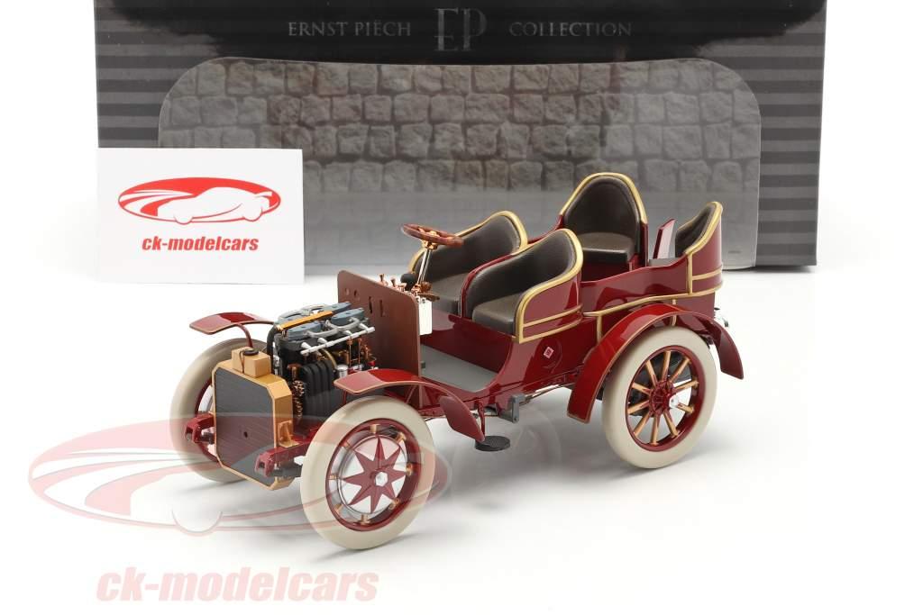 Lohner Porsche Mixte Hybrid Anno di costruzione 1901 rosso 1:18 Fahr(T)raum