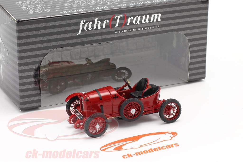 Austro Daimler Sascha ADS-R #2 Bouwjaar 1922 rood 1:43 Fahr(T)raum