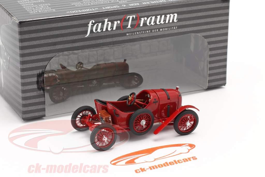 Austro Daimler Sascha ADS-R #2 Byggeår 1922 rød 1:43 Fahr(T)raum