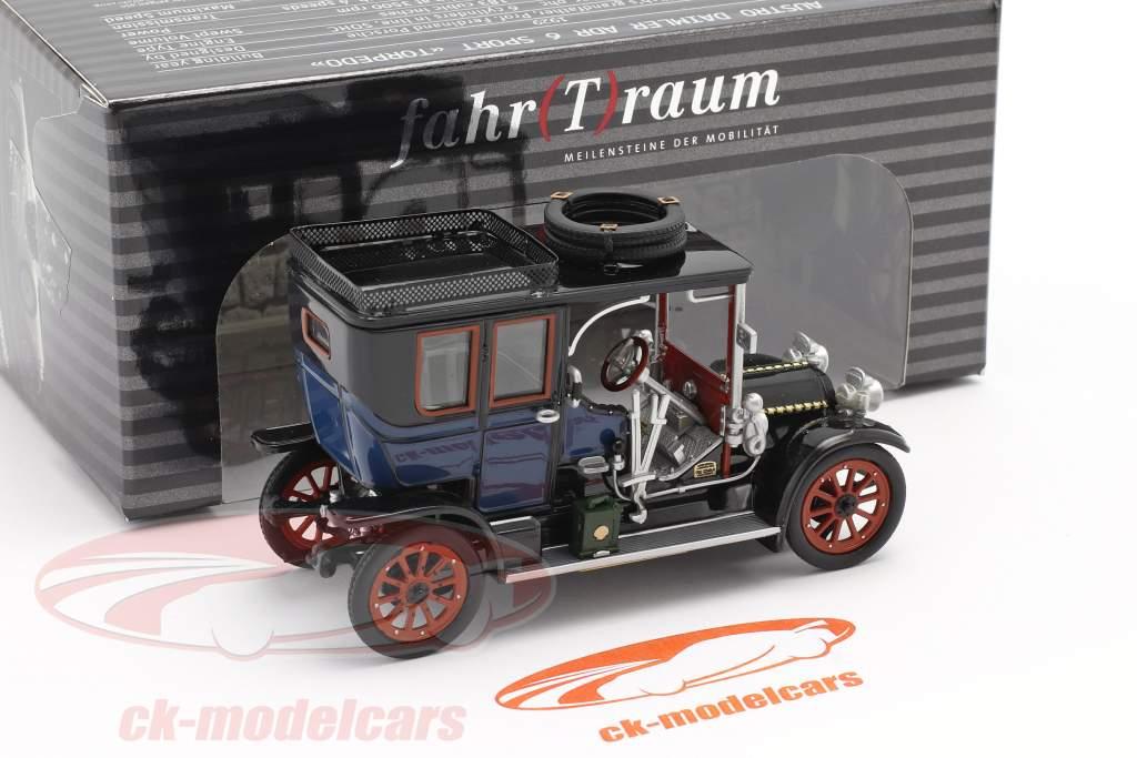 Austro Daimler 22/35 Maja Engine Byggeår 1908 blå / sort 1:43 Fahr(T)raum