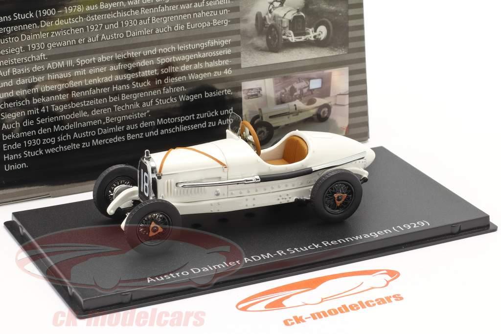 Austro Daimler ADM-R carro de corrida #18 1929 Hans Stuck 1:43 Fahr(T)raum