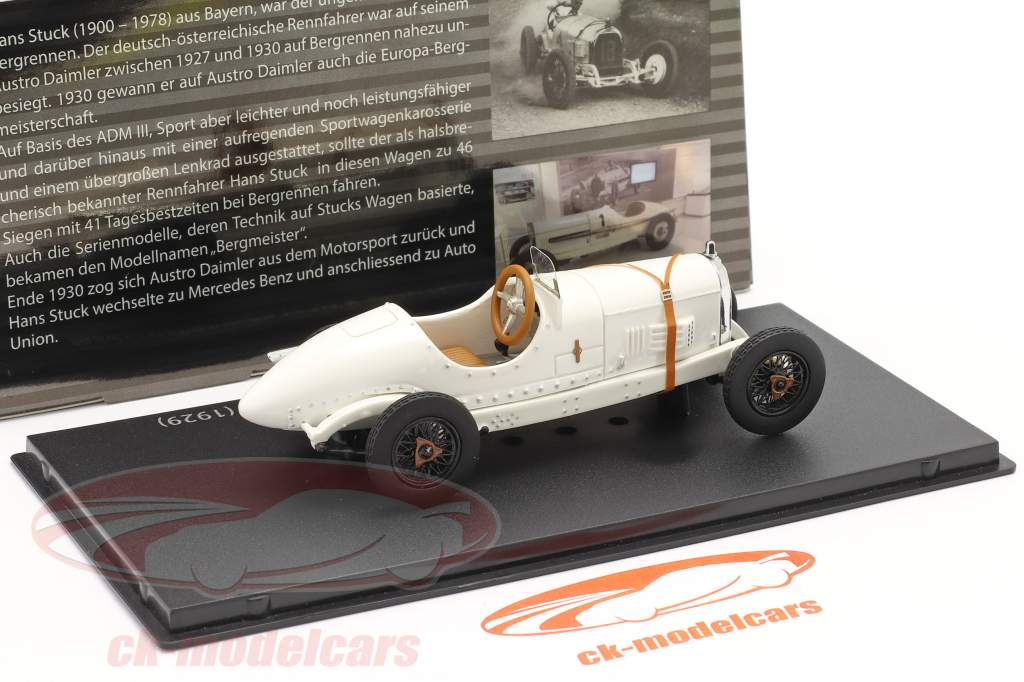 Austro Daimler ADM-R race auto #18 1929 Hans Stuck 1:43 Fahr(T)raum