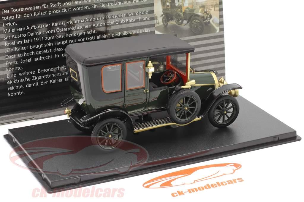 Austro Daimler Kaiserwagen Año de construcción 1911 verde 1:43 Fahr(T)raum