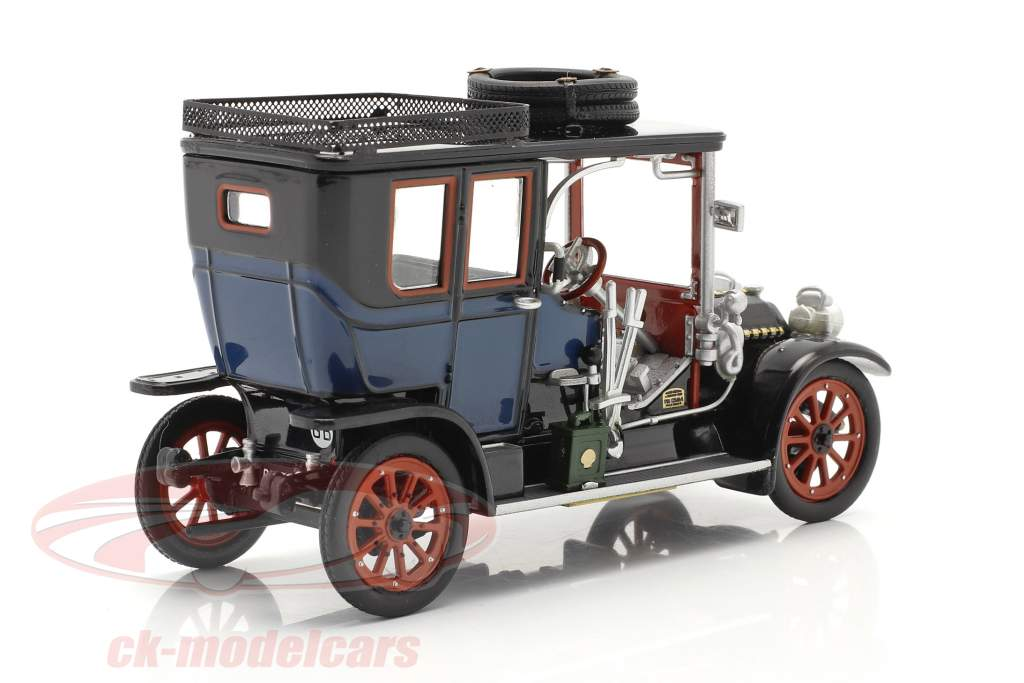 Austro Daimler 22/35 Maja Engine Anno di costruzione 1908 blu / nero 1:43 Fahr(T)raum