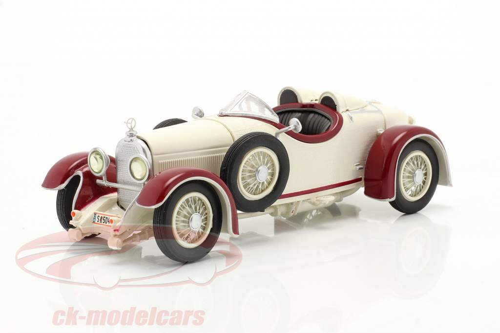 Austro Daimler ADR 6 Sport Torpedo Byggeår 1929 hvid / rød 1:43 Fahr(T)raum