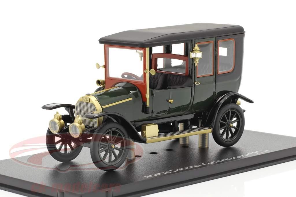 Austro Daimler Kaiserwagen Byggeår 1911 grøn 1:43 Fahr(T)raum