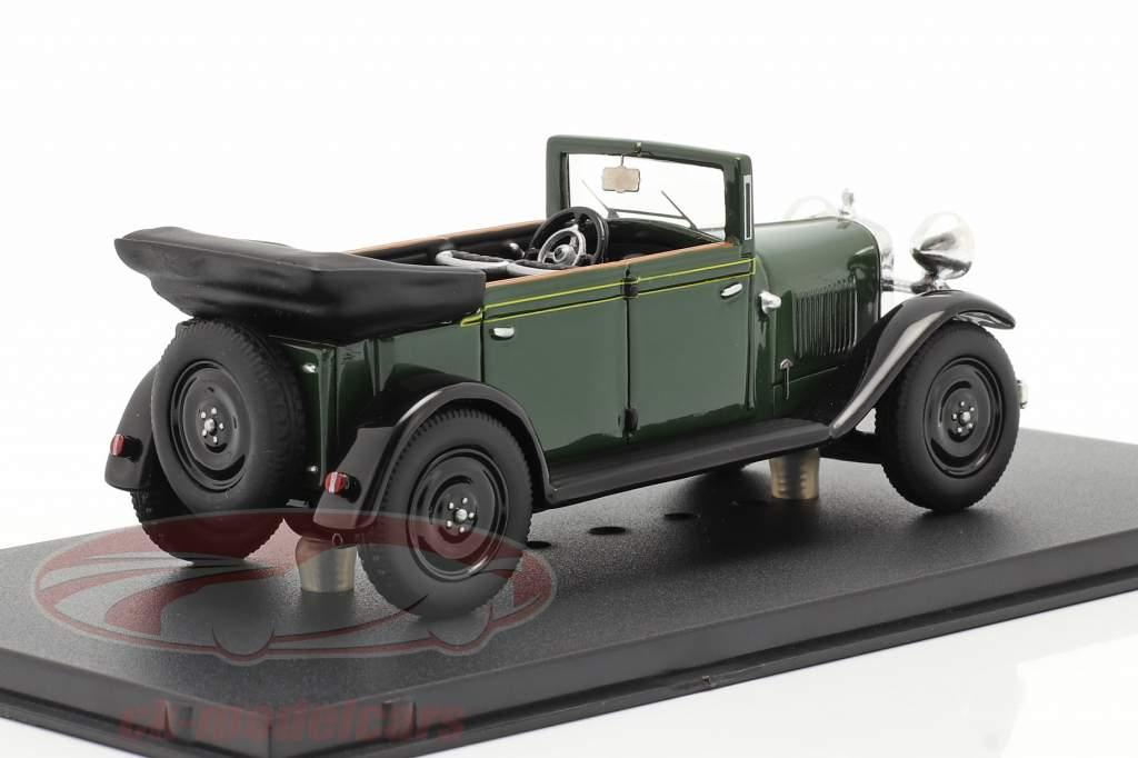 Steyr XXX Cabriolet Byggeår 1929 grøn 1:43 Fahr(T)raum