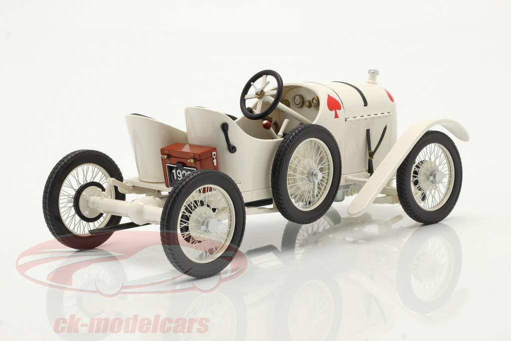 Austro Daimler Sascha ADS-R Bouwjaar 1922 Wit 1:18 Fahr(T)raum