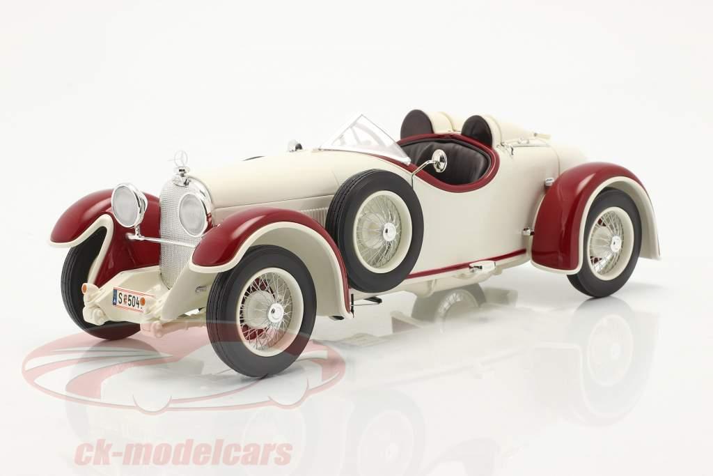 Austro Daimler ADR 6 Sport Torpedo Año de construcción 1929 Blanco / rojo 1:18 Fahr(T)raum