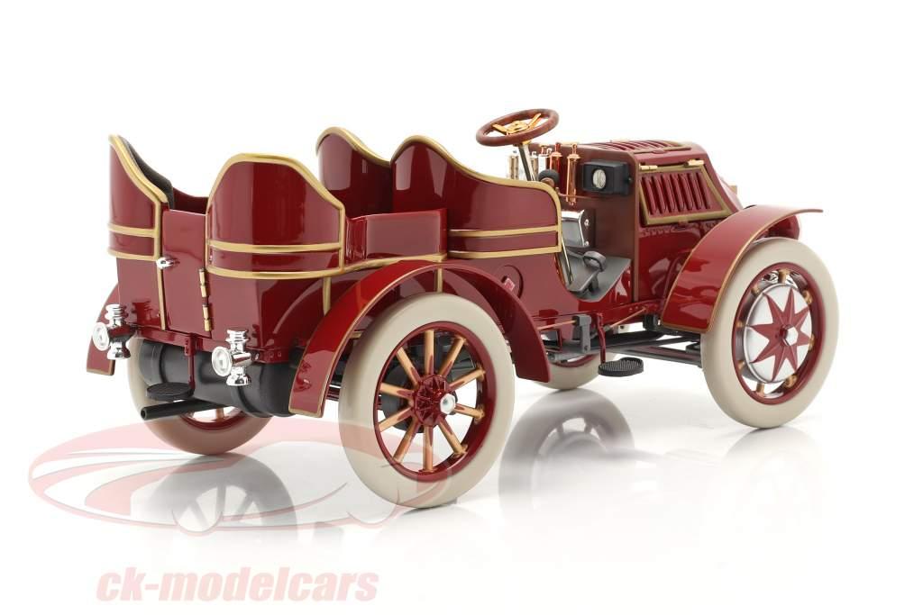 Lohner Porsche Mixte Hybrid Année de construction 1901 rouge 1:18 Fahr(T)raum
