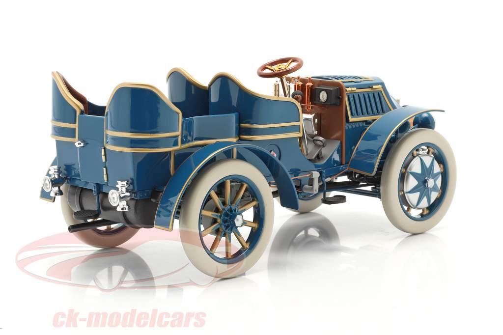 Lohner Porsche Mixte Hybrid Bouwjaar 1901 blauw 1:18 Fahr(T)raum