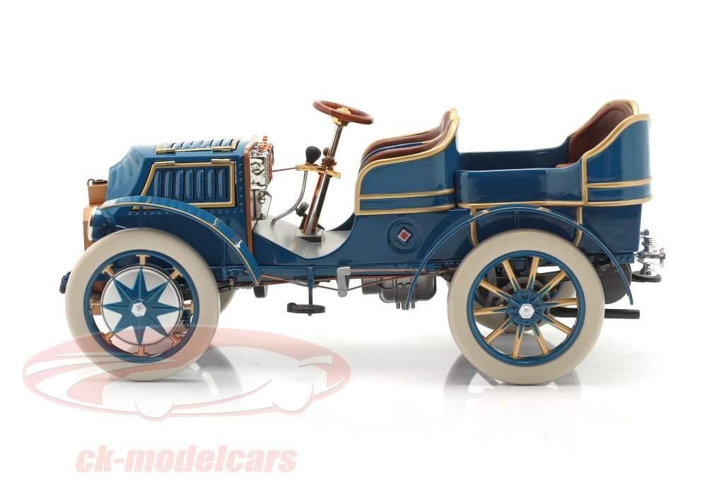 Lohner Porsche Mixte Hybrid Ano de construção 1901 azul 1:18 Fahr(T)raum