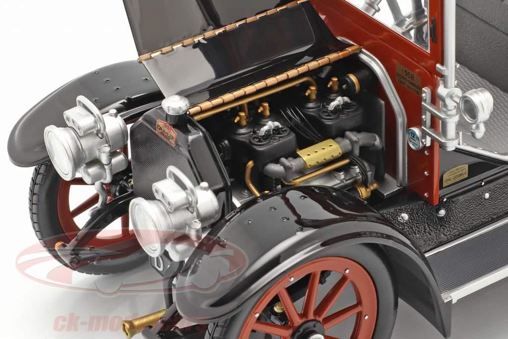 Austro Daimler 22/35 Maja Engine Bouwjaar 1908 blauw / zwart 1:18 Fahr(T)raum
