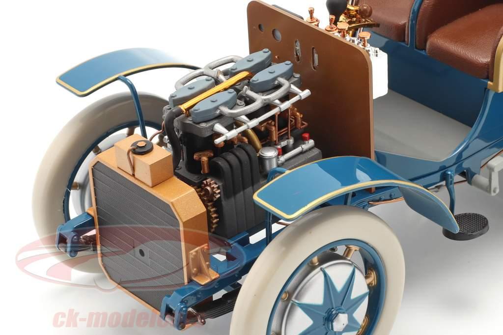 Lohner Porsche Mixte Hybrid Anno di costruzione 1901 blu 1:18 Fahr(T)raum
