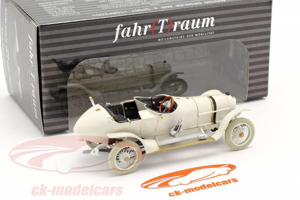 Austro Daimler #51 vincitore Il principe Heinrich ride 1910 F. Porsche 1:43 Fahr(T)raum